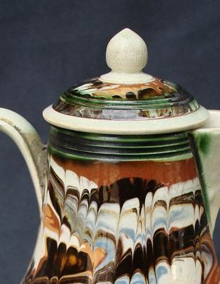 English baluster form cream jug ca. 1780