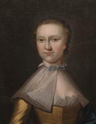 Portrait of Grace Peel, by Benjamin West