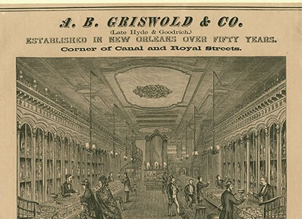Griswold & Company advertisement by John William Orr