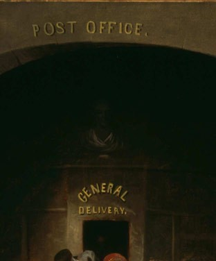 Post Office, ca. 1859-63, by David Gilmour Blythe