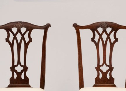 Side chairs, Philadelphia, PA, ca. 1765 and 20th century.