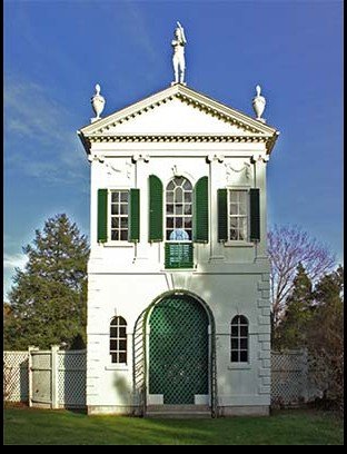 Summer house for Derby's country estate, 1793-94, Samuel McIntire