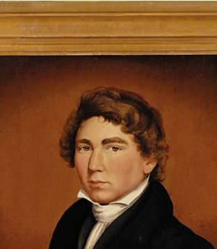 The Artist as a Young Man: Self-Portrait by William Matthew Prior, 1825