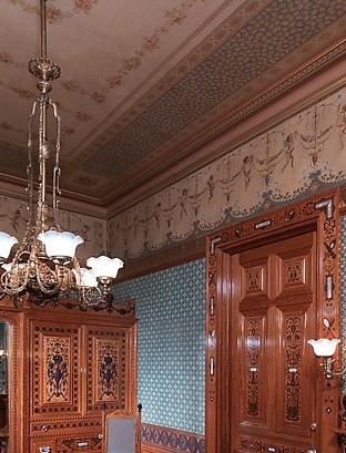 Architectural woodwork and paneling
