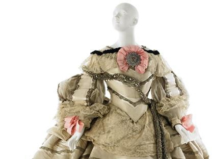 "Fancy dress costume, ""Infanta Margarita"" after Velasquez, worn by Kate Brice to the Bradley-Martin Ball"