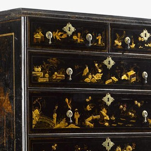 High chest, Boston, Massachusetts, 1712-1725.