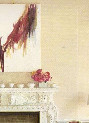 David Hicks' drawing room, Britwell Salome, England
