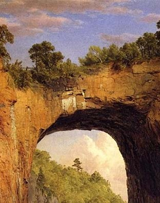 Natural Bridge, Frederic Edwin Church,