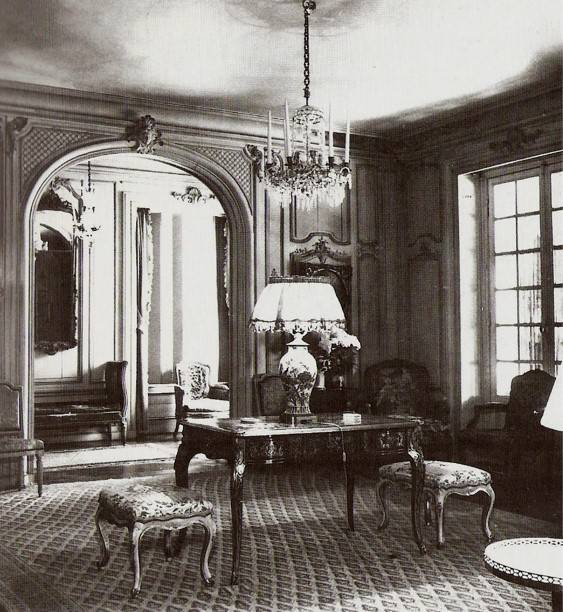 Interior Of Elsie De Wolfe S Villa Trianon Her Home In Versailles France
